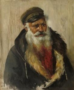 Čigonas su kailiniais. Y. Penas. 1910 m.