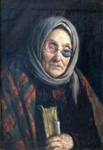 Akla senė. 1907 m.