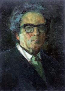 Autoportretas.  I. Borovskis. 1980 m.