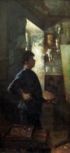 Dailininkas Šulmanas. Y. Penas. 1898 m.
