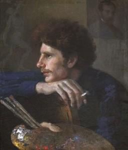 Dailininko Šulmano portretas. 1910 m.