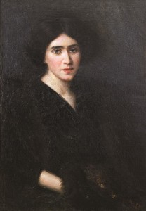 Dama su mova. 1907 m.