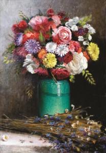 Gėlės. 1914 m.
