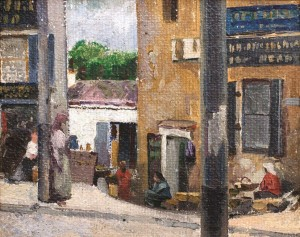 Gatvė. 1890 m. pab.