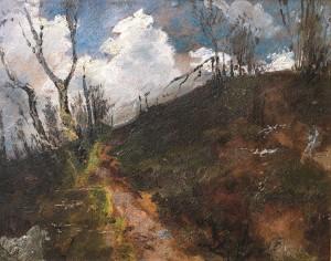 Kalnelis debesyse. 1910 m.
