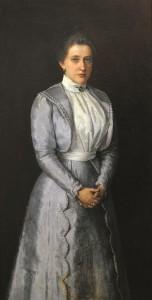 Korf portretas. 1888 m.