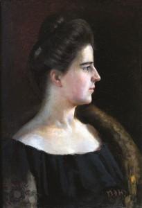 Merginos portretas. 1906–1908 m.