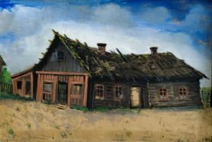 Namas, kuriame aš gimiau (Namas, kuriame gimė Penas). 1886–1890 m.