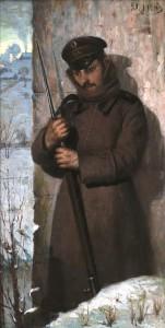 Sargybinis. 1880 m. pab.