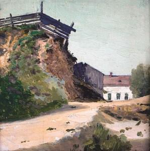 Skardis prie kelio. 1910 m. pab. – 1920 m.