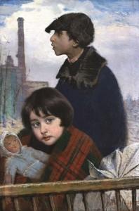 Vaikai pabėgėliai. 1914–1916 m.