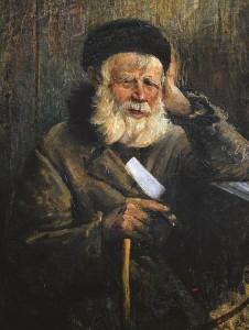 Valstiečio portretas. 1920 m.