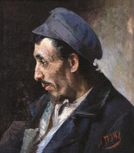 Vyro portretas. 1910 m. pr.