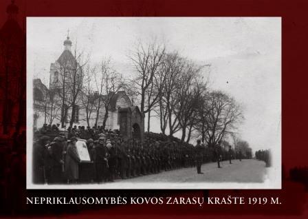 NEPRIKLAUSOMYBĖS KOVOS ZARASŲ KRAŠTE 1919 M.